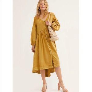Free People Stevie Midi Dress